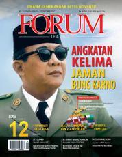 Cover Majalah Forum Keadilan ED 12 Oktober 2017