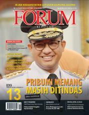 Cover Majalah Forum Keadilan ED 13 Oktober 2017