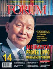 Cover Majalah Forum Keadilan ED 14 November 2017