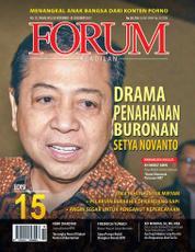 Cover Majalah Forum Keadilan ED 15 November 2017