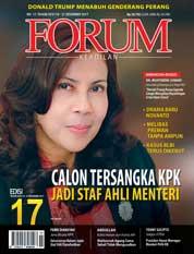 Cover Majalah Forum Keadilan ED 17 Desember 2017