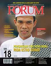 Cover Majalah Forum Keadilan ED 18 Januari 2018