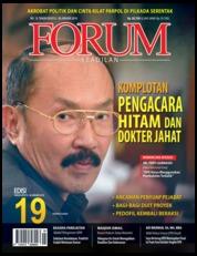 Cover Majalah Forum Keadilan ED 19 Januari 2018