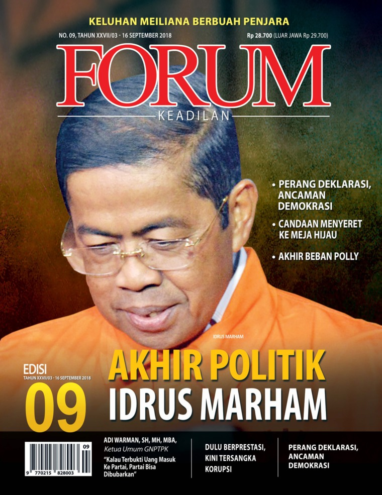 Majalah Digital Forum Keadilan ED 09 September 2018