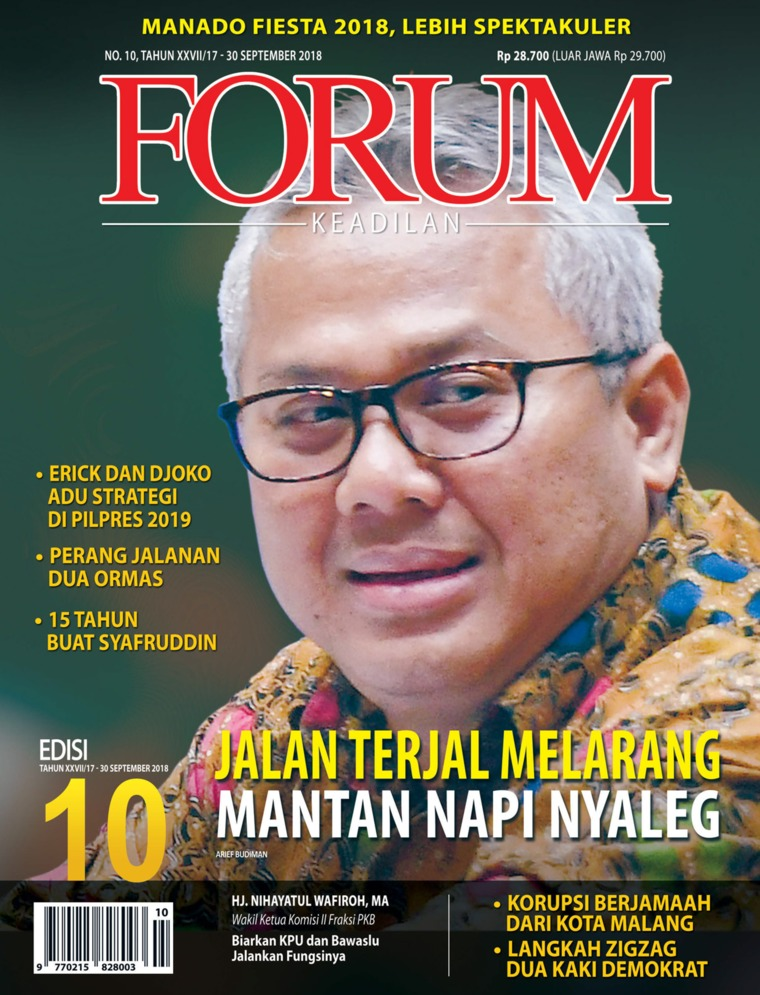 Majalah Digital Forum Keadilan ED 10 September 2018