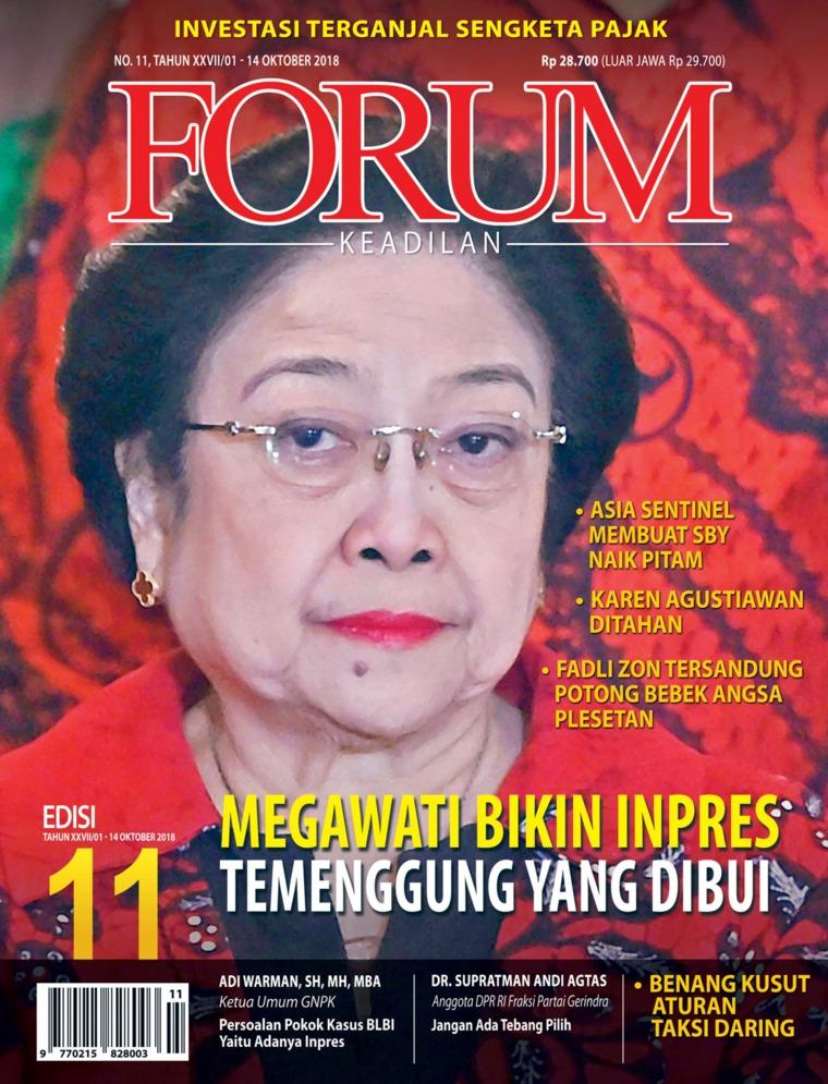 Majalah Digital Forum Keadilan ED 11 Oktober 2018