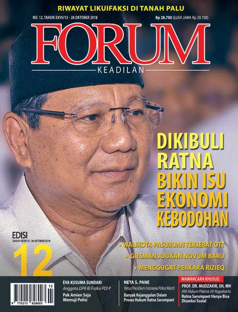 Forum Keadilan Digital Magazine ED 12 October 2018
