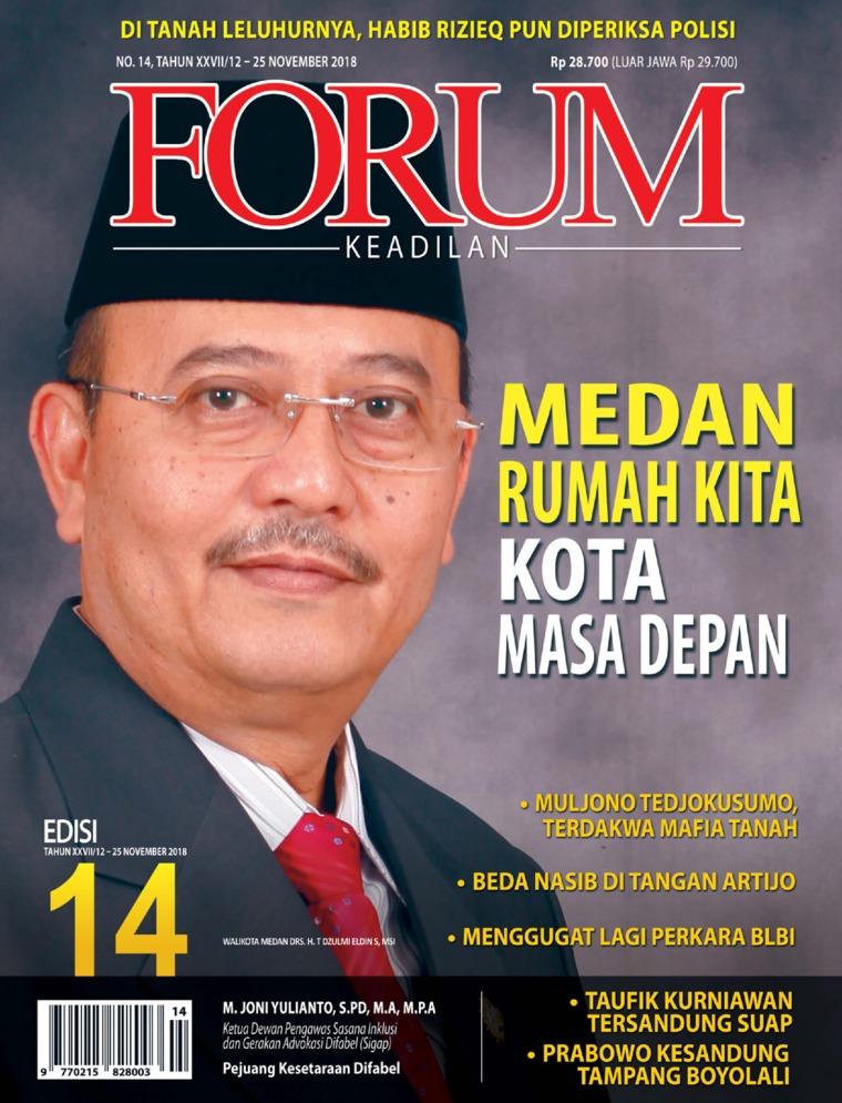 Majalah Digital Forum Keadilan ED 14 November 2018