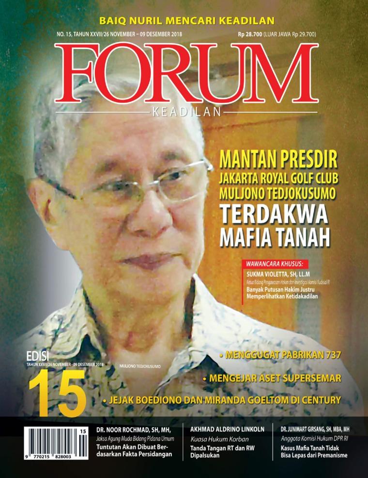 Forum Keadilan Digital Magazine ED 15 November 2018