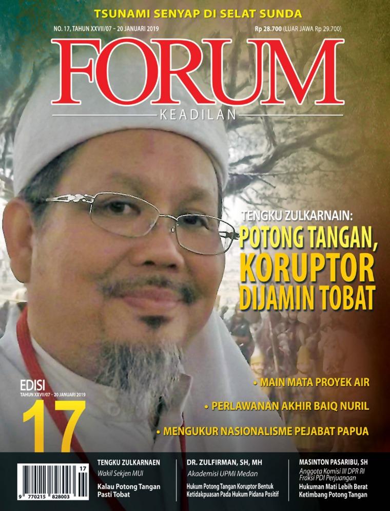 Majalah Digital Forum Keadilan ED 17 Januari 2019