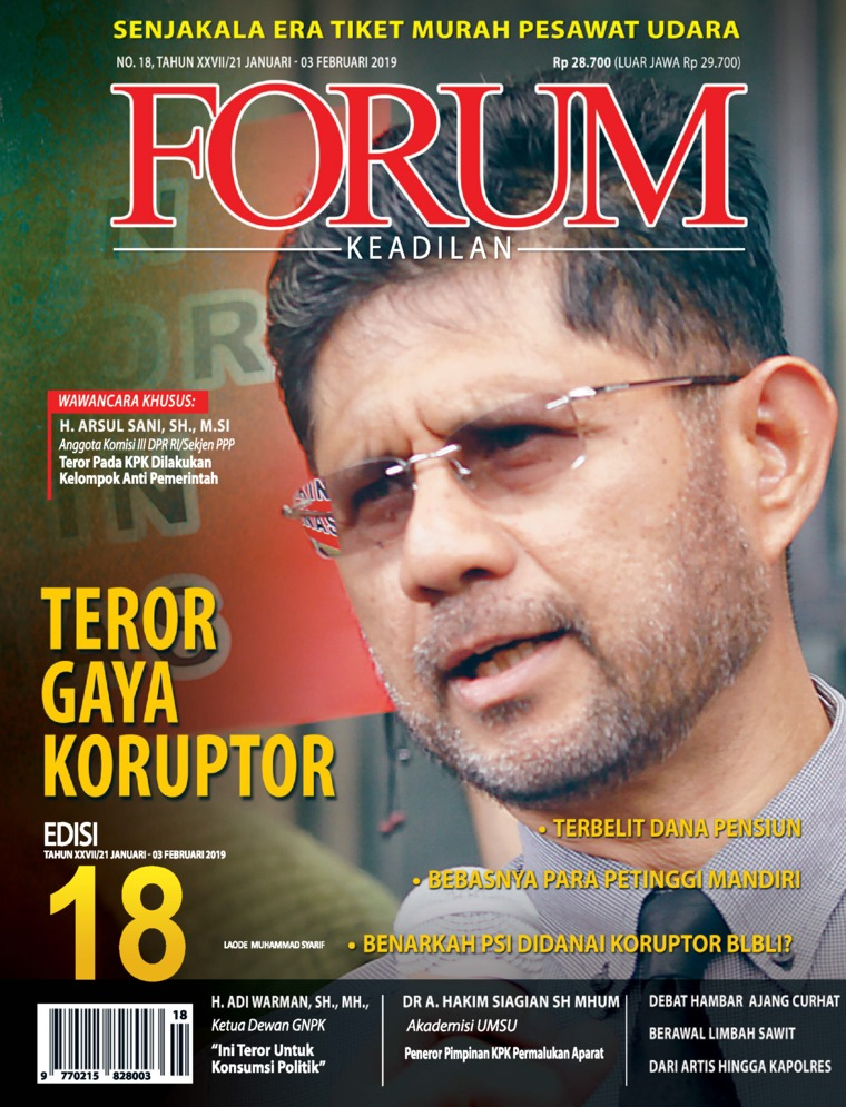 Forum Keadilan Digital Magazine ED 18 January 2019