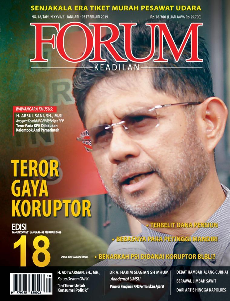 Majalah Digital Forum Keadilan ED 18 Januari 2019