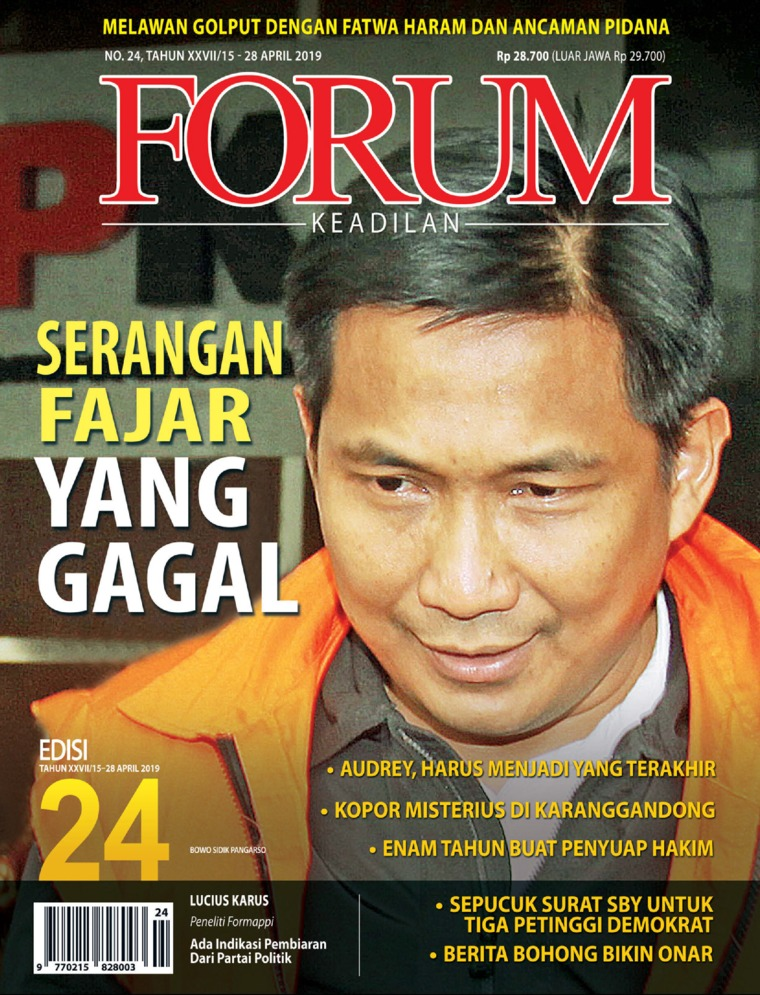 Majalah Digital Forum Keadilan ED 24 April 2019