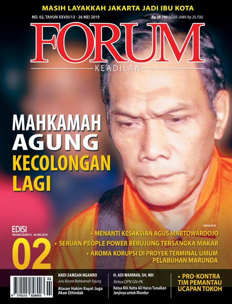 Majalah Digital Forum Keadilan ED 02 Mei 2019