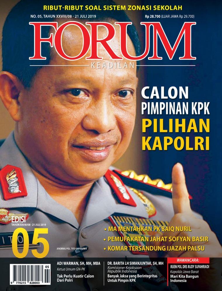 Forum Keadilan Digital Magazine ED 05 July 2019