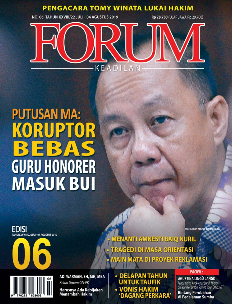 Forum Keadilan Digital Magazine ED 06 July 2019