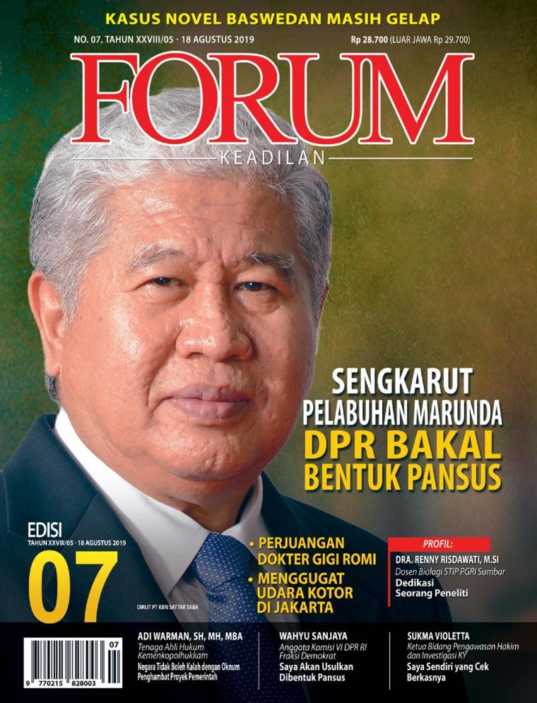 Forum Keadilan Digital Magazine ED 07 August 2019