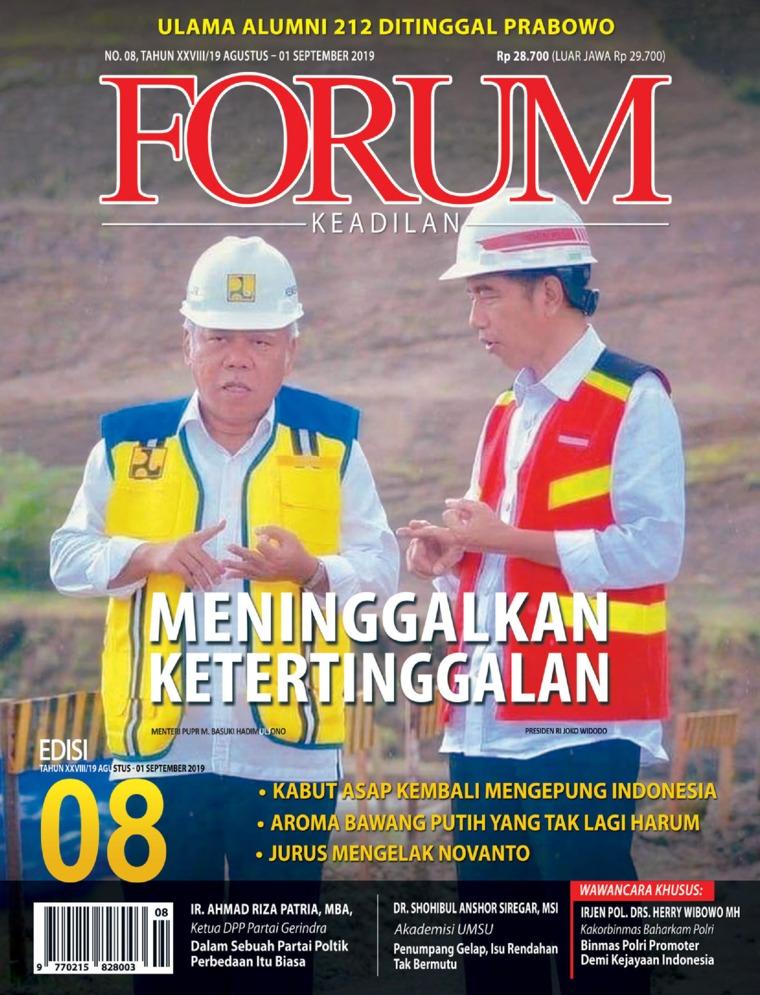 Forum Keadilan Digital Magazine ED 08 August 2019