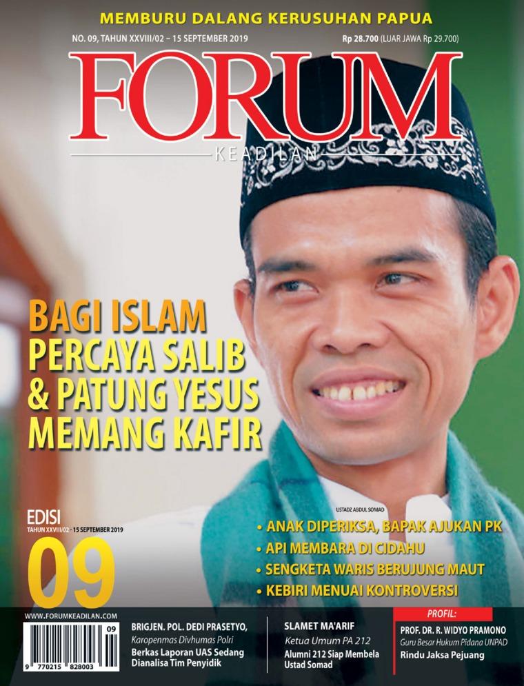Majalah Digital Forum Keadilan ED 09 September 2019