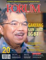 Cover Majalah Forum Keadilan ED 20 Januari 2018