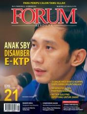 Cover Majalah Forum Keadilan ED 21 Februari 2018