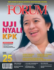 Cover Majalah Forum Keadilan ED 25 April 2018