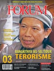 Cover Majalah Forum Keadilan ED 03 Mei 2018