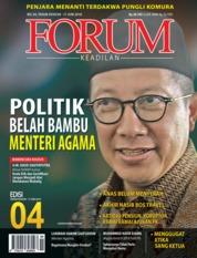 Cover Majalah Forum Keadilan ED 04 Juni 2018