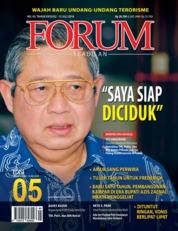 Cover Majalah Forum Keadilan ED 05 Juli 2018