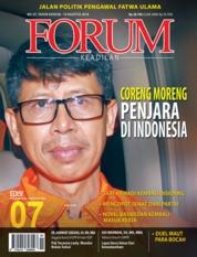 Cover Majalah Forum Keadilan ED 07 Agustus 2018