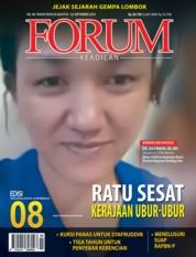 Cover Majalah Forum Keadilan ED 08 Agustus 2018