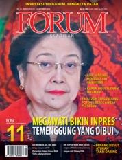 Cover Majalah Forum Keadilan ED 11 Oktober 2018