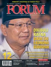 Cover Majalah Forum Keadilan ED 12 Oktober 2018