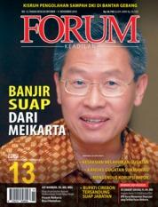 Cover Majalah Forum Keadilan ED 13 Oktober 2018