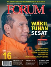 Forum Keadilan Magazine Cover ED 16 December 2018
