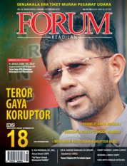 Forum Keadilan Magazine Cover ED 18 January 2019