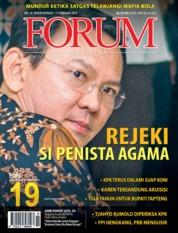 Cover Majalah Forum Keadilan ED 19 Februari 2019