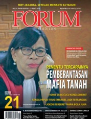 Forum Keadilan Magazine Cover ED 21 March 2019