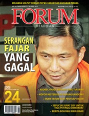 Cover Majalah Forum Keadilan ED 24 April 2019