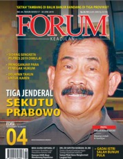 Forum Keadilan Magazine Cover ED 04 June 2019