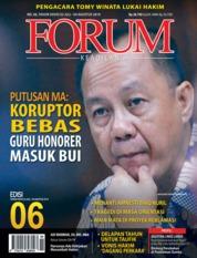 Cover Majalah Forum Keadilan