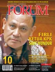 Cover Majalah Forum Keadilan ED 10 September 2019
