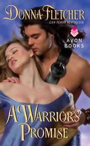 Cover A Warrior's Promise oleh Donna Fletcher