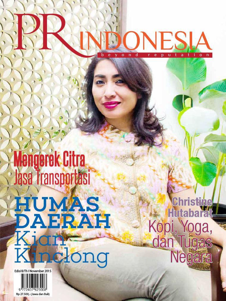 Majalah Digital PR Indonesia ED 08 November 2015