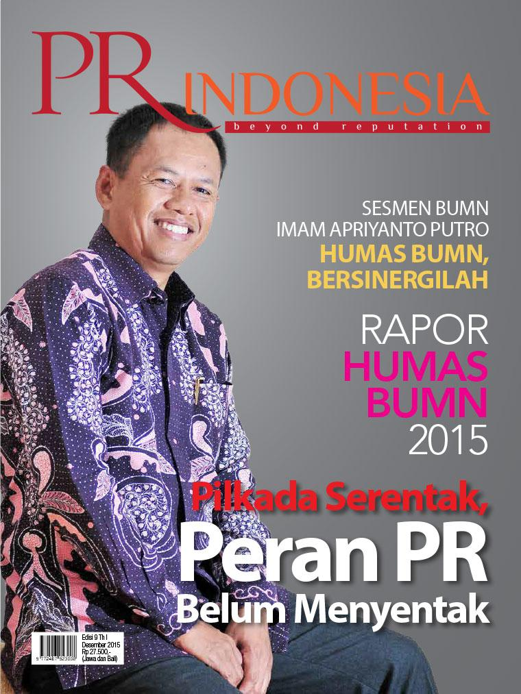 Majalah Digital PR Indonesia ED 09 Desember 2015