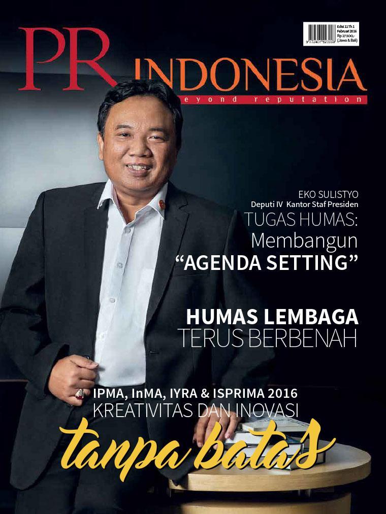 Majalah Digital PR Indonesia ED 11 Februari 2016