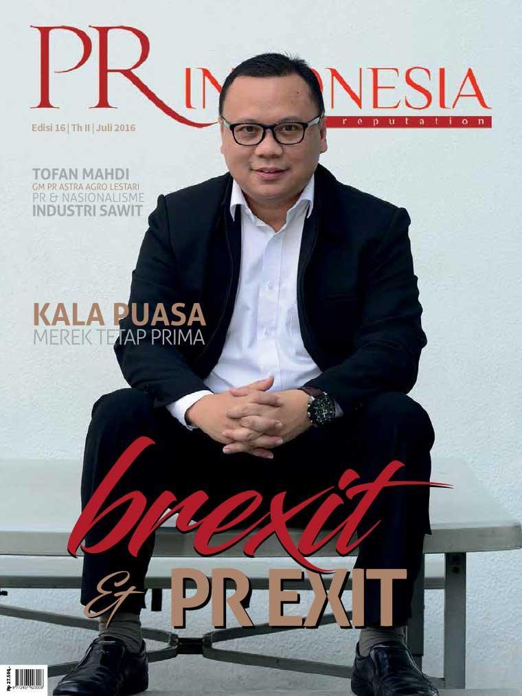 Majalah Digital PR Indonesia ED 16 Juli 2016