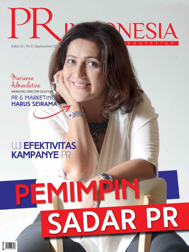 Majalah Digital PR Indonesia ED 18 September 2016