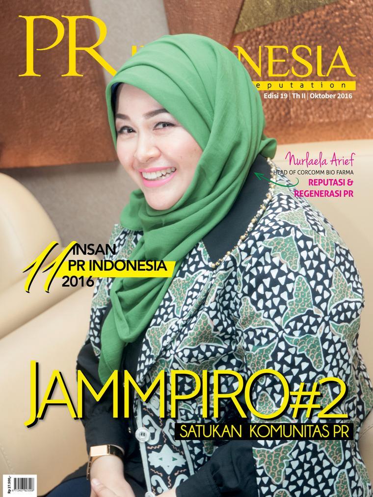 Majalah Digital PR Indonesia ED 19 Oktober 2016