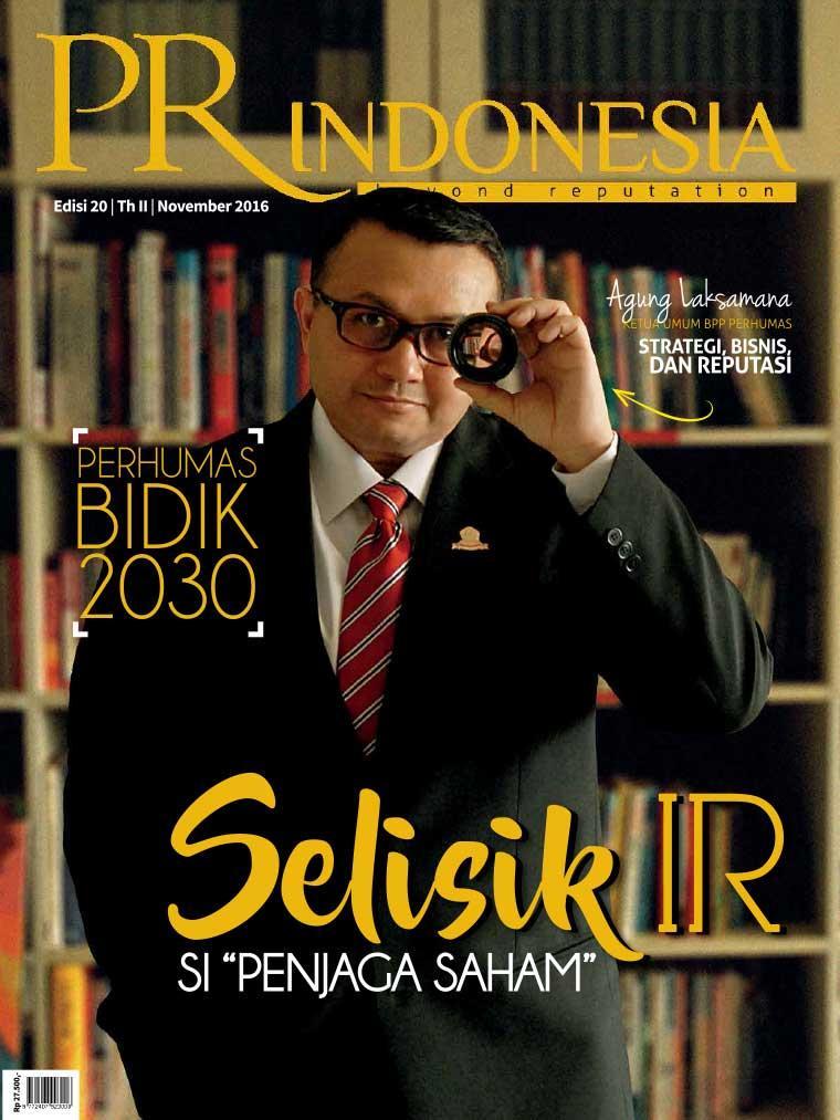 Majalah Digital PR Indonesia ED 20 November 2016